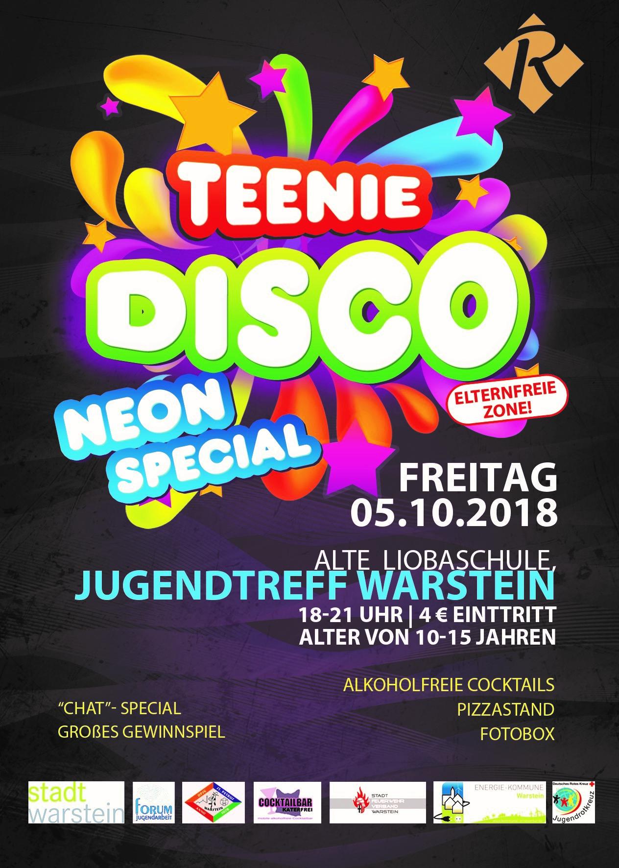 Einladung Zur Teeniedisco Dpsg Warstein